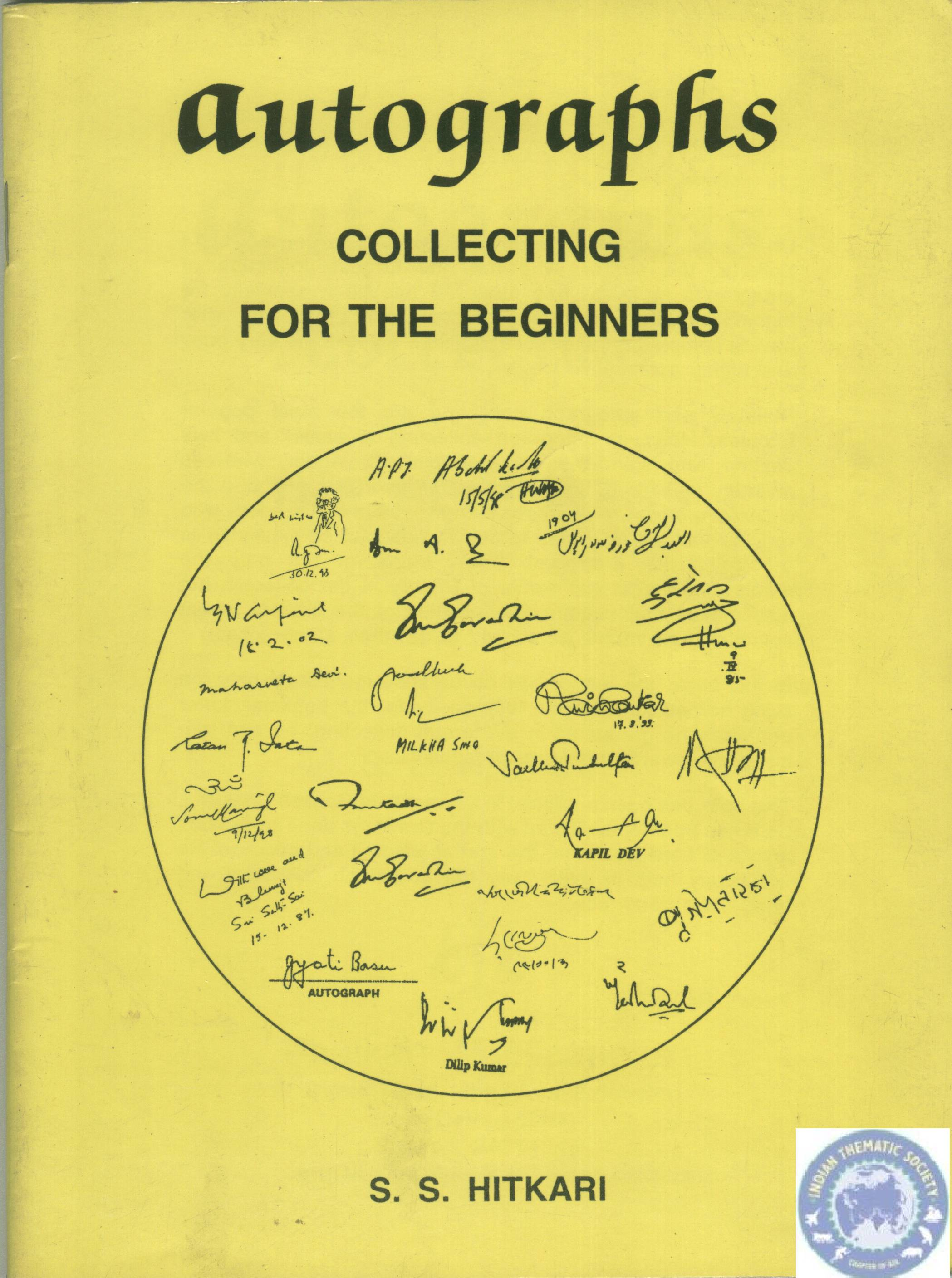 Autographs Collecting for beginners