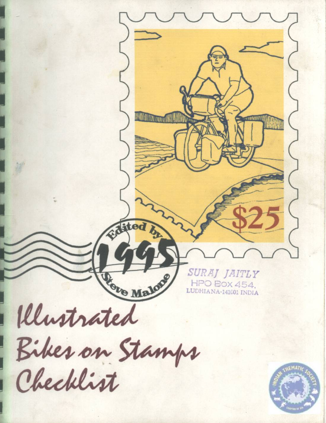Illustrated Checklist of Bikes on Stamps